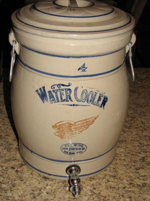 Cabin Fever Auction Featuring Rare Red Wing Stoneware
